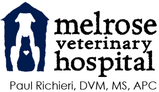 Melrose Veterinary Hospital logo